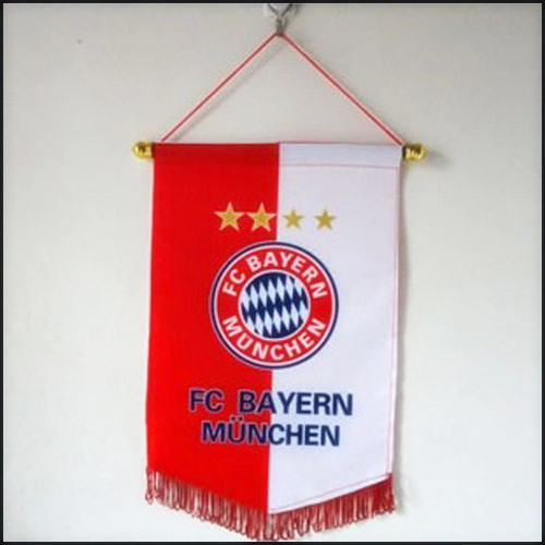 Promotion Customed Hand/Club Flag printed logo