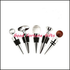 China Crystal Metal bottle Stopper promotion gift supplier