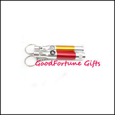 China Compass Torch Whistle Keyrings keyrings gift supplier