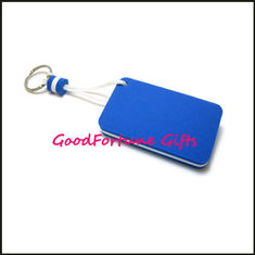 China Customed logo PU Foam Floating Keychain keyrings gift supplier