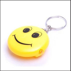 China Led Smile Keychain keyrings promotion gift supplier