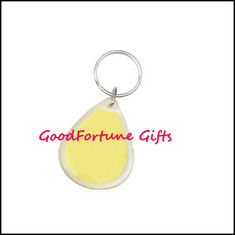 China Promotion gift Customed Acrylic Keychain keyrings supplier