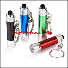 China Promotion Flashlight torch Keychain keyrings gift supplier
