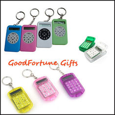 China Promotion gift Keychain keyrings With Calculator supplier