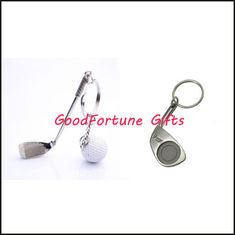 China Promotion gift metal Golf Brassie KeyChain supplier