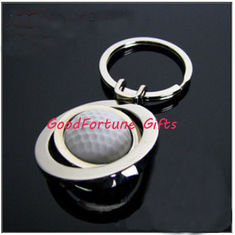 China Golf Metal KeyChain keyrings promotion gift supplier