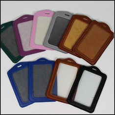 China PU Leather Card Holder promotion gift supplier