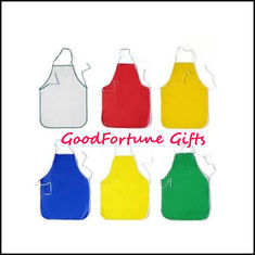 China Coloured PVC Apron promotion gift printed logo supplier