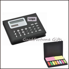 China Sticky Notes memo pad with case and calculator supplier