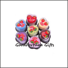China promotional creative heart cake design cotton towel wedding birthday festival gift supplier