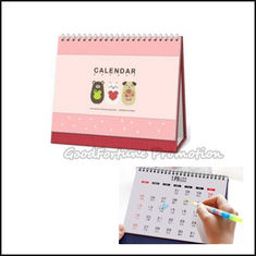 "China customed logo 8"" promotional coloured printed calendar gift supplier"