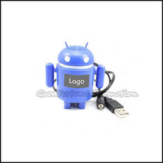 China promotional android shape mobile Mp4/mp3 iphone computer speaker audio sound gift supplier