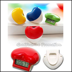 China high quanlity promotion ABS portable waist clip hanging pedometer gift printed logo supplier