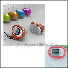 China high quanlity promotion crystal portable waist clip hanging pedometer gift printed logo supplier