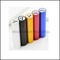 China Customed promotional portable coloured Emergency mobile Charger printed logo gift supplier