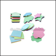 China Hot sale promotion printed logo Eco figure sticky notes post it memo pad gift supplier