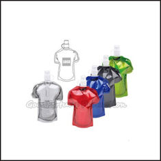 China Hot Sale Eco Portable promotional fold T shirt Shape water bottle cup drinkware gift supplier