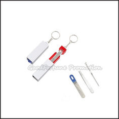 China Hot Sale Portable promotional portable printed logo skin beauty nail file set nail scissor supplier