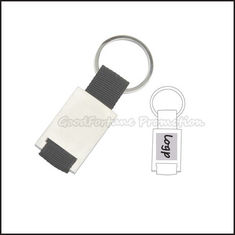 China Hot Sale promotional printed logo portable zinc alloy advertising keychain keyring gift supplier