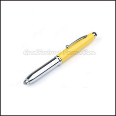 China Hot Sale high quanlity Promotional printed logo touch iphone pen with torch gift supplier