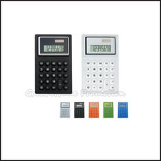 China Hot Sale Promotional printed logo Soft Eco Silicon Coloured Mini Calculator business gift supplier
