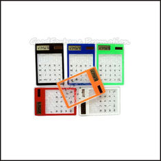 China Promotional printed logo Eco Abs Coloured Mini Maze Puzzle Game Calculator business gift supplier