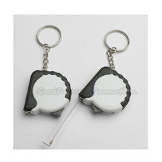 China Hot Sale Promotional printed logo measurement tape keychain keyrings gift supplier