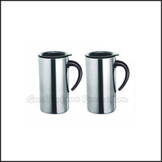 China Promotion printed logo stainless steel coffee sports mug water drink cup bottle supplier