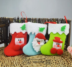 China Christmas Tree Decoration Glove & Sock Shape promotion gift supplier