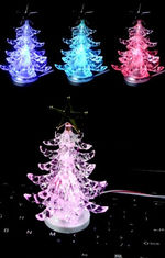 China USB 7 color fiber tree with top star promotion gift supplier