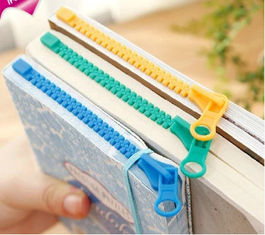 China Zipper Bookmark promotion gift supplier