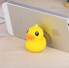 China Yellow Duck Phone Stand promotion gift supplier