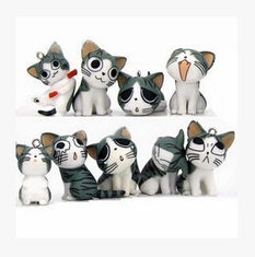 China New Lovely 9 style exprression mobile hanging accessory cat promotion gift supplier