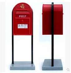 China New promotion gift creative product post box booth saving bank money box supplier