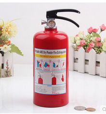 China New promotion gift creative product fire extinguisher saving bank money box supplier