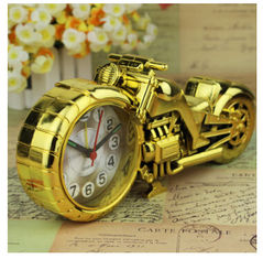 China New creative gift product motorcycle motor bicycle alarm clock toy supplier