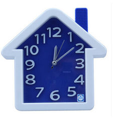 China New creative gift product house shape alarm clock toy supplier