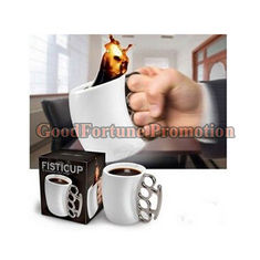 China New creative gift product fist ceramic coffee cup mugs supplier
