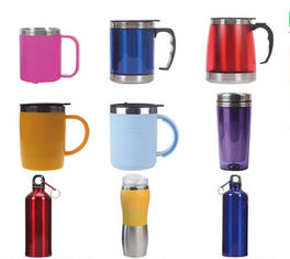 China New creative gift product coloured stainless steel mugs cup supplier