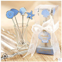 China New creative gift product wedding gift Marine Biology fruit fork supplier