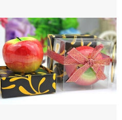 China New creative promotion gift product wedding gift party festival apple candle supplier