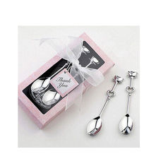 China New creative promotion gift product stainless steel spoon wedding gift supplier