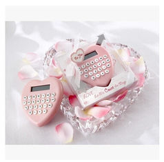China New creative promotion gift product wedding gift heart shape calculator supplier