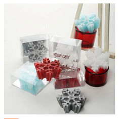 China New creative promotion gift product wedding gift snow candle christmas festival supplier