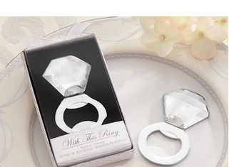 China New creative promotion gift product wedding gift crystal metal bottle opener supplier