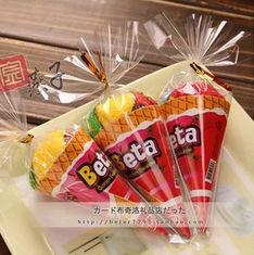 China New creative promotion gift product wedding gift ice cream towel with gift box supplier