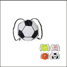 China New Creative customed logo football sports shape drawstring bag supplier