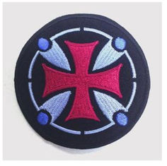 China New promotional customed logo cloth Embroidery patch sports badge club outdoor activity supplier
