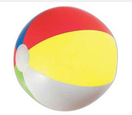 China New customed print logo promotional outdoor advertising gift pvc beach ball balloon supplier