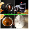 China New promotion gift creative gift product self-stirring camera lens coffee cup mugs factory